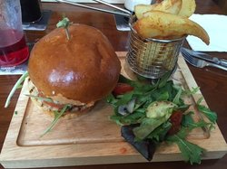 Burger and Triple Cooked Chips!