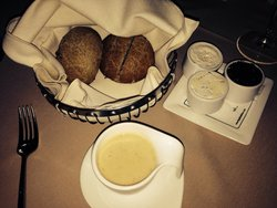 Soup, breads and butters