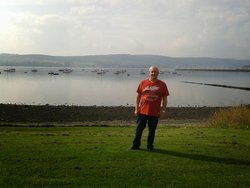 Overlooking the wonderful Clyde.