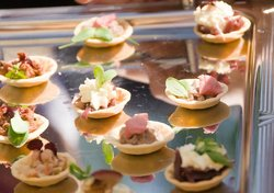 Lovely canapes