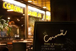 Corona Bar for Billiards