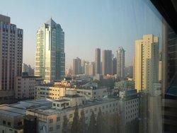 部屋からの眺め1 PM2.5少し低