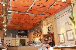 Intérieur du café dels Tints