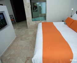 The Standard Double Room at the Viva Wyndham Azteca