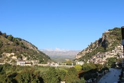 Berat - Vue depuis la chambre - Lothe