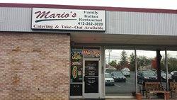 Marios Family Italian Restaurant