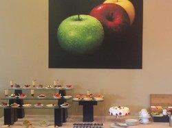 Area de Postres en buffet desayuno