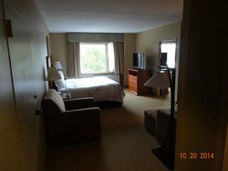 Picture of our suite at the Rocky Gap Casino Resort