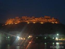Nite foto of Haraki castle