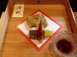 Grilled Japanese bluefish