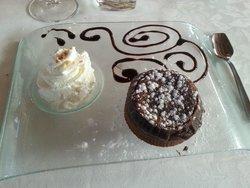 il tortino al cioccolato fondente
