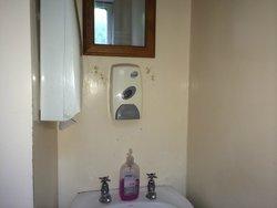 Grubby bathroom