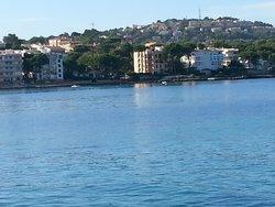 view from santa ponsa beach