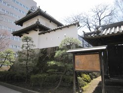 The Remain of Takasaki Castle