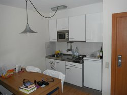 Kitchen Area from Living Area