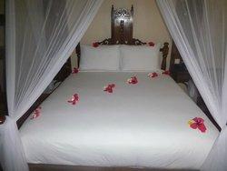 lit décoré