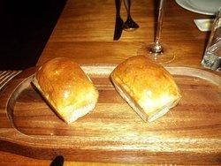 Fresh and warm mini loaf