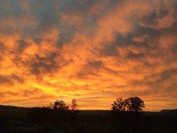 Gorgeous sunrise.