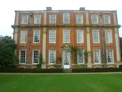 Chicheley Hall rear view from Gardens