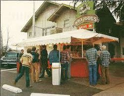 Taylor Brothers Hot Dog Stand
