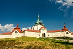 The Pilgrimage Church of St. John of Nepomuk at Zelena Hora