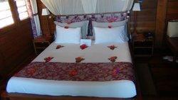 Notre lit fleuri