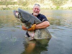As big as the angler!