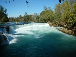 Manavgat Waterfall and River