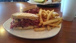 Our Myer Lansky Reuben Sandwich!