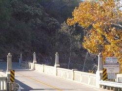 1922 bridge that leads to Gateway Restaurant