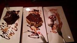 Chocolat Suicide, Tiramisu and Zeppoles - all addictive
