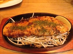 Grilled Salmon (180g) in a Teriyaki sauce