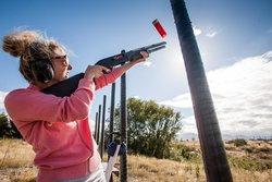 Clay Bird Shooting