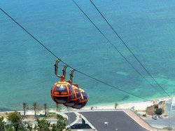 Haifa - aerial cable car to Stella Maris (115567975)