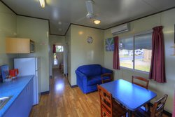 2 Bedroom 4 berth living area