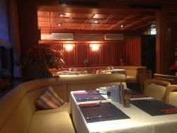 Beautiful paneled wood dining room