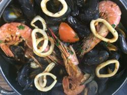 Plancha fruits de mer