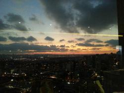 Vista panorâmica do 27º andar - Anoitecer
