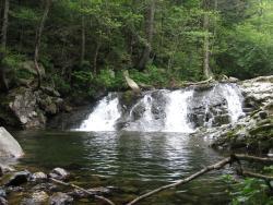 Smolnye Waterfalls