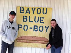 Bayou Blue Po Boy