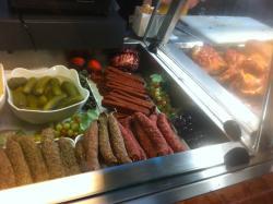 sausage selection