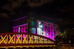 Premier Inn Manchester Salford Central Hotel