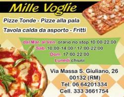 Pizzeria Mille Voglie