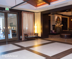Lobby at the Kimpton Solamar Hotel