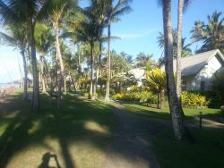 The path from our room to the resort