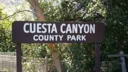 Cuesta Canyon County Park