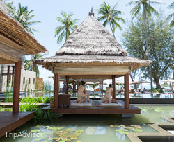 Massage by the Pool at the Pool at the SALA Samui Resort And Spa