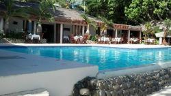 Daytime pool area