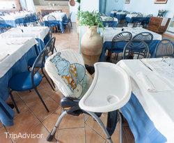 Restaurant at the Hotel Club Saraceno