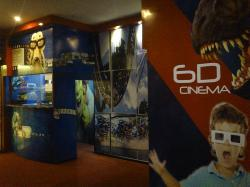 6D Cinema Motion Ride